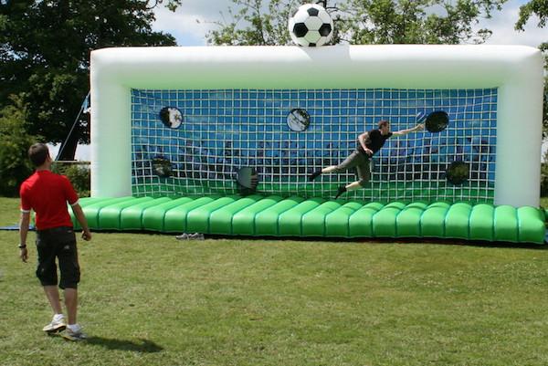Soccer Shootout Penalty Shootout Hire Evesham Bouncy