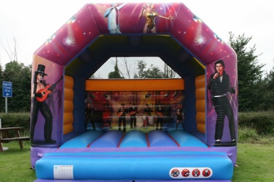 Rock Stars Adult Bouncy Castle