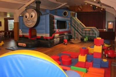 Train Bouncy Castle Hire