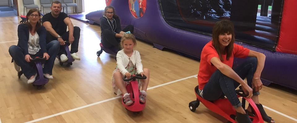 Free Plasma Car Hire - Indoor Parties